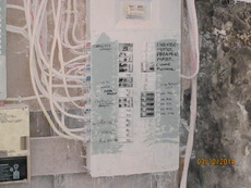 Electrical Panel before
